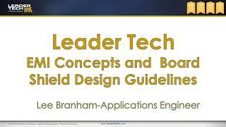 EMI Concepts & BLS Design Webinar