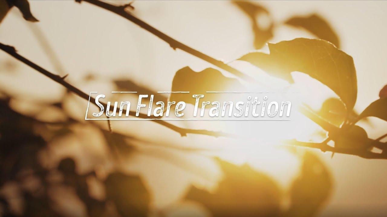 Hướng dẫn Chuyển cảnh tia nắng - Sun Flare Transition // Premiere Pro CC