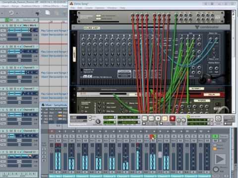 Samplitude Music Studio 15 , Reason and Rewire
