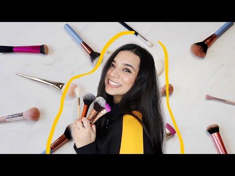 How I Clean My Makeup Brushes | Athisha Khan