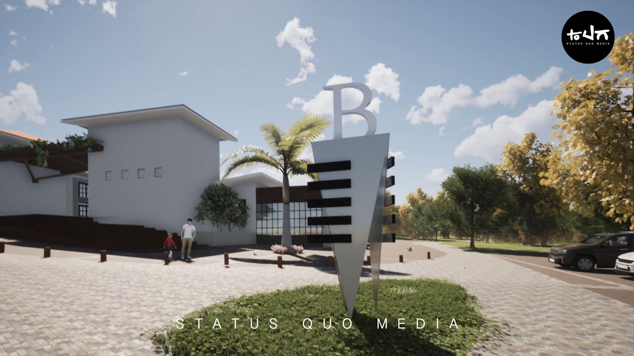 Buganville Plaza Animación 3D