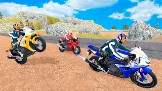 Bike Racing Games - Motocross Beach Bike Racing Stunt 3D - Gameplay Android free games