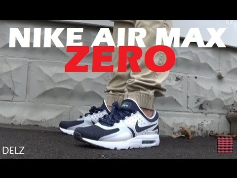 Nike Air Max Zero Sneaker Unboxing Review + On Feet & Sizing With @DjDelz