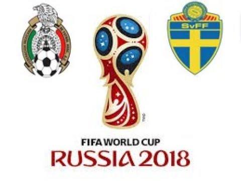 Mexico Vs Suecia - GRUPO F - ULTIMA RONDA - FASE DE GRUPOS RUSIA 2018