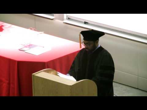 Raghu Mahajan Commencement Speech 2017