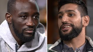 So intense! Terence Crawford doesn't react kindly to comments about his size