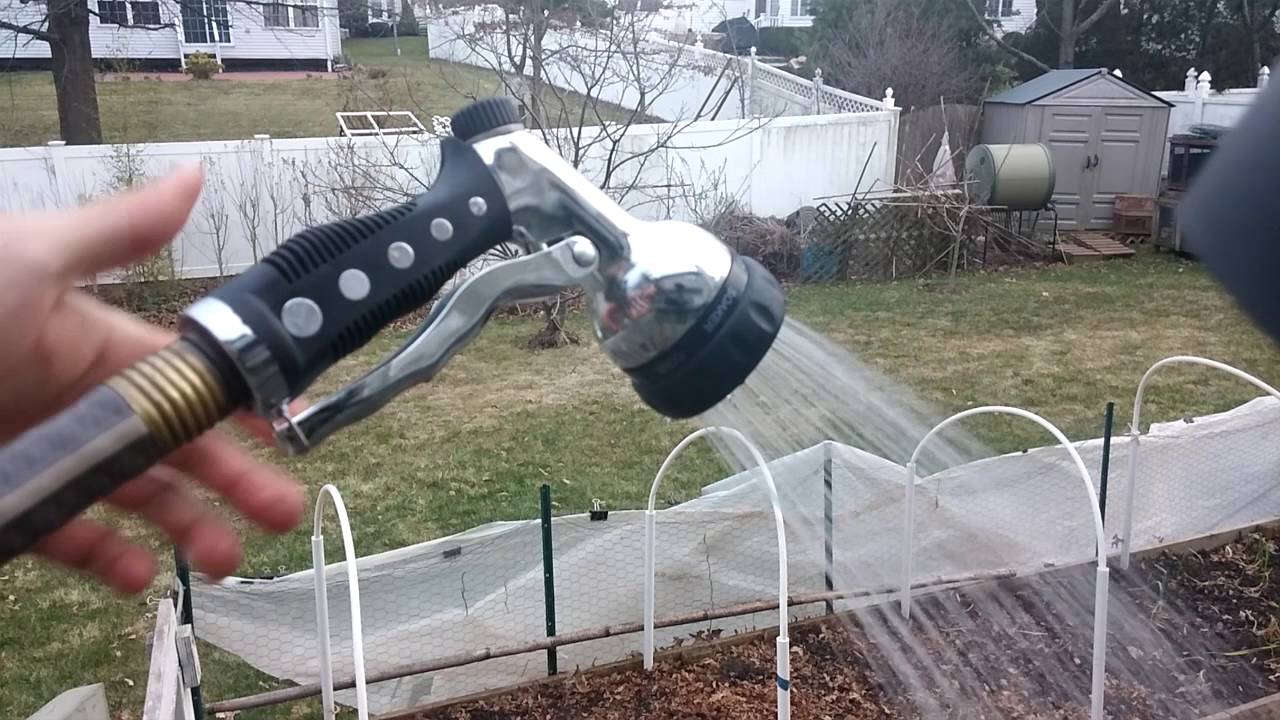 metal garden hose sprayer nozzle review sold by thunder youtube