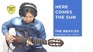HERE COMES THE SUN (The Beatles ) Fingerstyle Cover - Rizky januardi