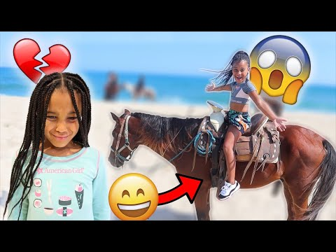 CALI WAS SCARED... BUT SHE DID IT! 😱🐎