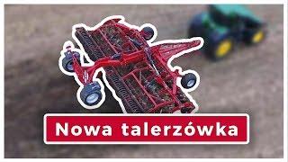 Brona talerzowa, agregat i kultywator POM Brodnica 🎥 2017