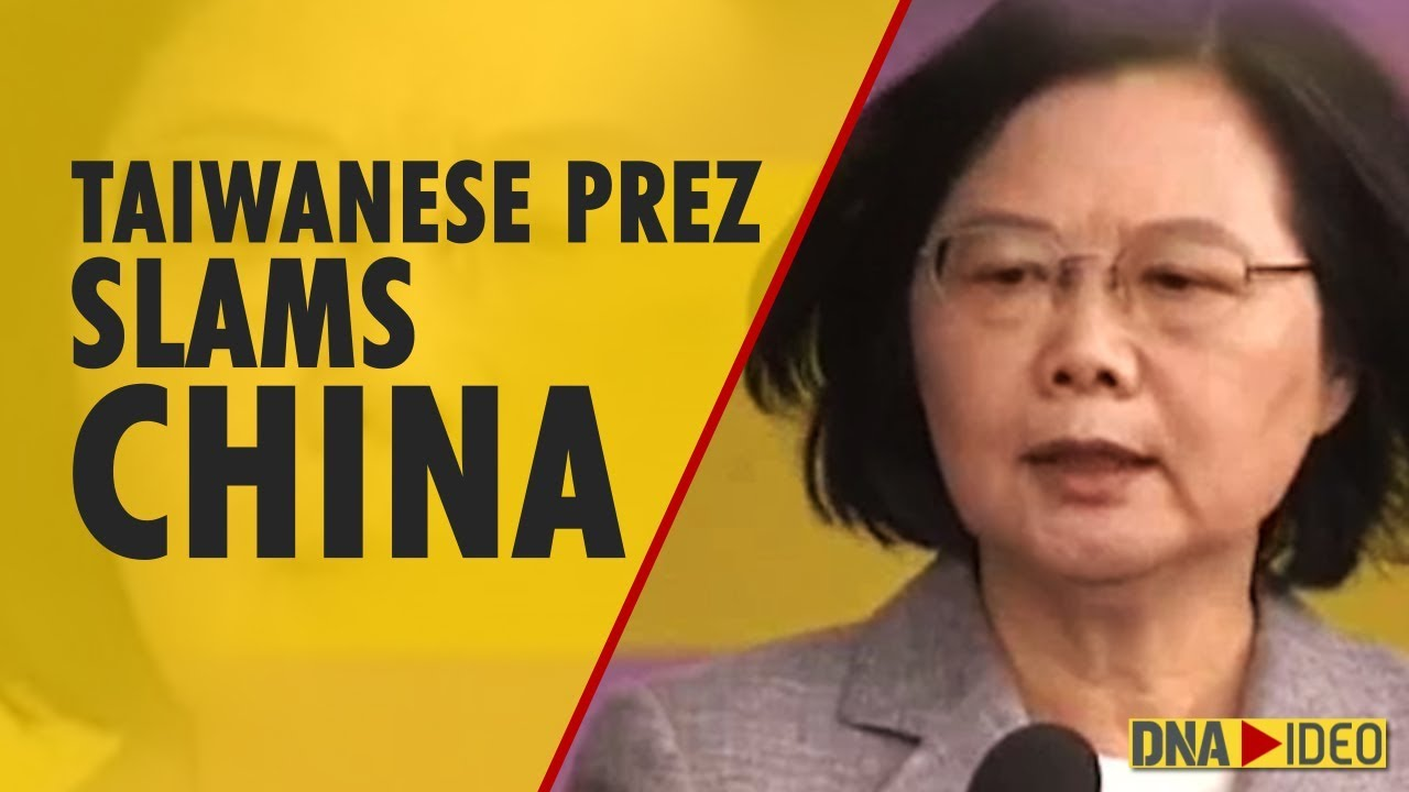 Taiwanese president accuses China of destabilizing region, seeking conflicts
