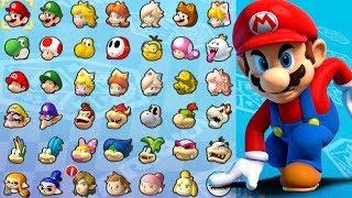 Mario Kart 8 Deluxe - All Characters Unlocked