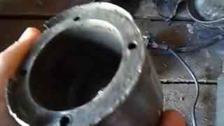 Ролики гранулятора после трех лет эксплуатации