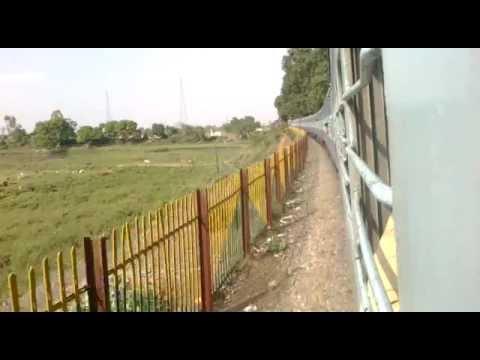 [ IRI ] first time on net, Delhi - Chhapra Special exp entring Garhmuktesar Bridge part 1