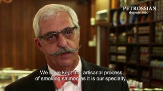 Learn how we make our smoked salmon at Petrossian