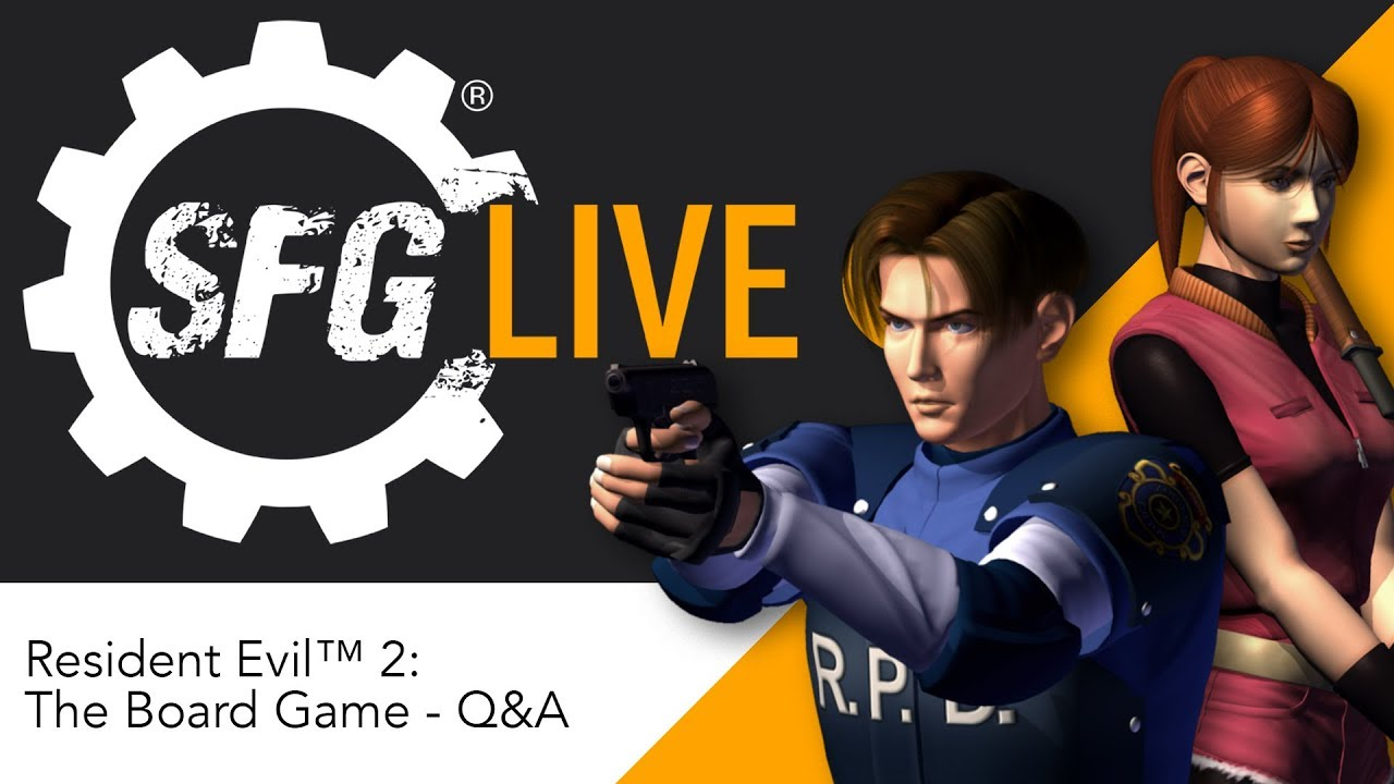 Sfg Live Resident Evil 2 The Board Game Q A Youtube