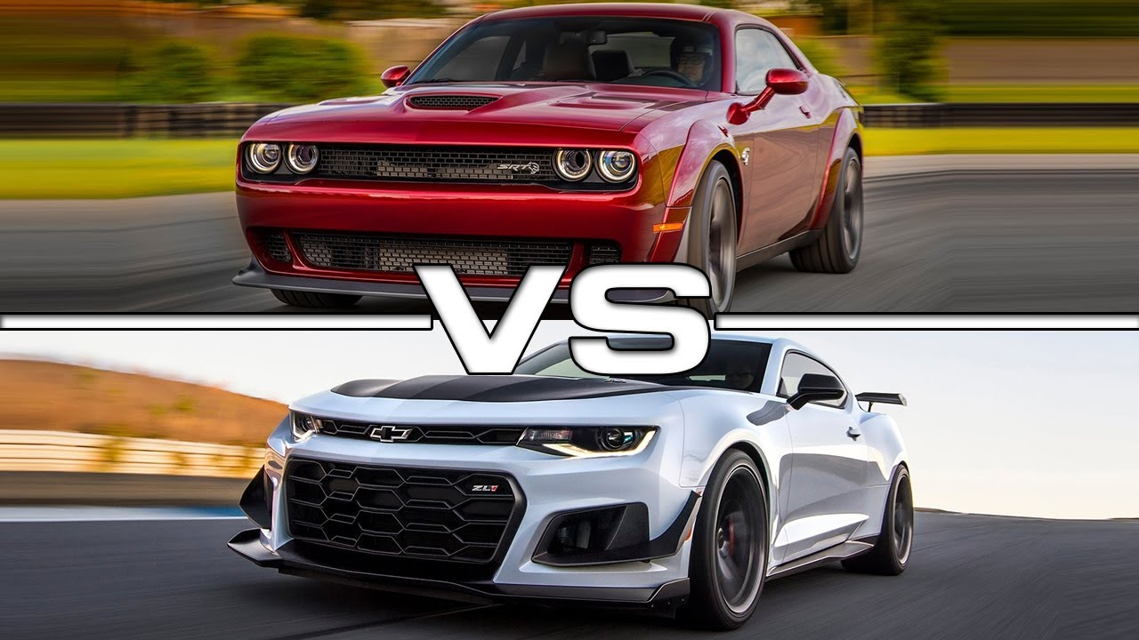 2018 Dodge Challenger Srt Hellcat Widebody Vs 2018