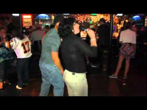 Karaoke at the Upstairs Down Stairs bar Biloxi with DJJB