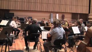 Christmas concert rehearsal with Barnabas Kelemen