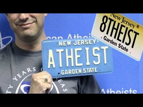 Atheist License Plate Request Denied in New Jersey