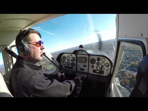 Flying Tecnam P92 Eaglet 4K