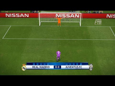 PES 2017 | Real Madrid vs Juventus | UEFA Champions League Final | Full Match + Penalty Shootout