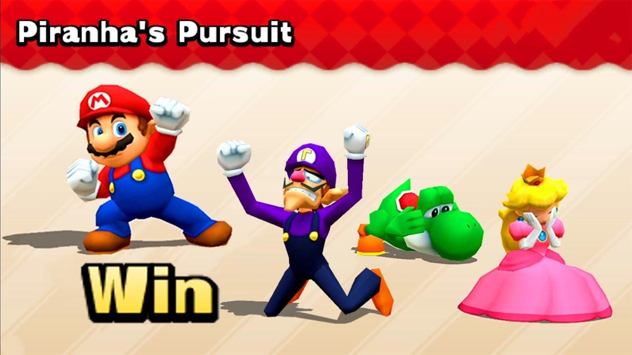 Mario Party The Top 100 - Mario v Peach vs Yoshi vs Waluigi