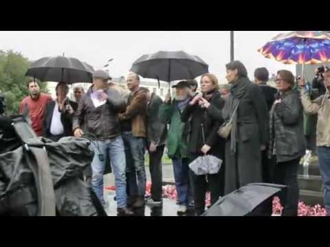 Митинг театра имени Н.В. Гоголя (1 часть)