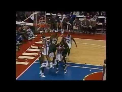 Shawn Kemp - Sonics at Pistons - 1995-96