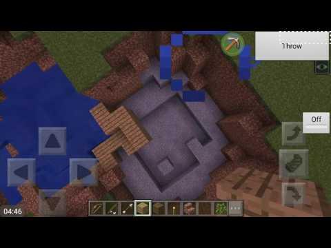 Breaking minecraft physics