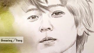 강동원 연필드로잉/ Gang DongWon pencil…