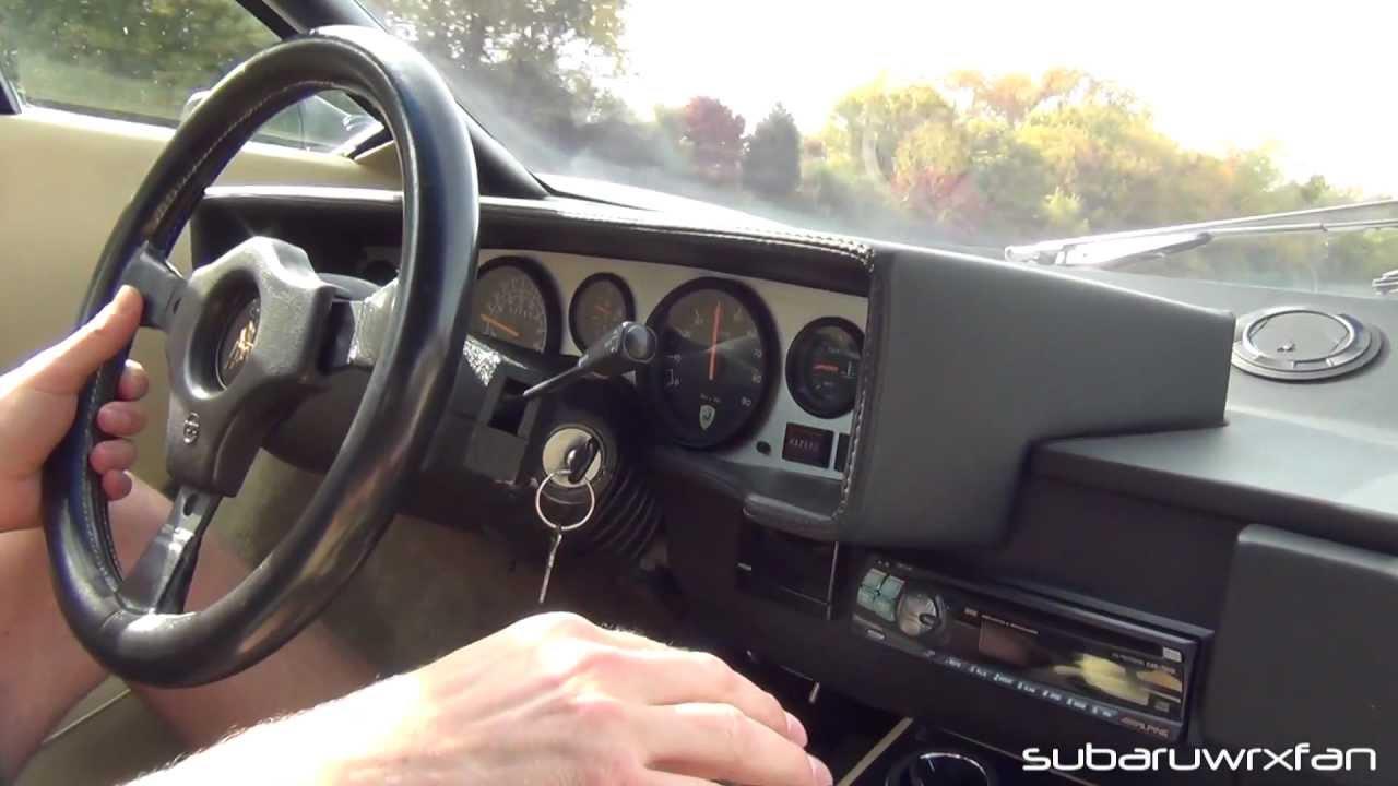 Ride In A Lamborghini Countach S Youtube
