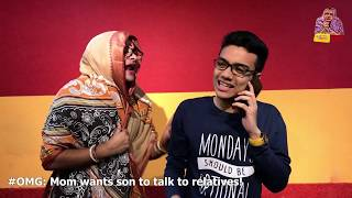 OMG - O Maa Go - S02E37 - Phone Trilogy part 01 -Mom wants son to talk to relatives!