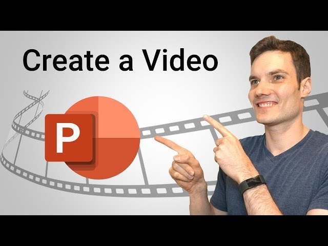 How to Make a Video in PowerPoint - ppt to video