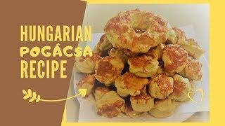 Hungarian Pogácsa recipe I Házi Pogácsa recept