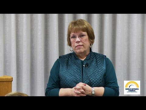 """""""Ukraine, A Country Still in Transition"""", a talk given by Professor Candida Johnson"""
