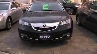 2012 Acura TL Tech Startup Engine & In Depth Tour