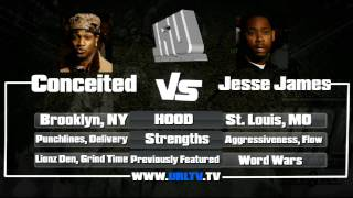 URL PRESENTS CONCEITED VS JESSE JAMES | URLTV