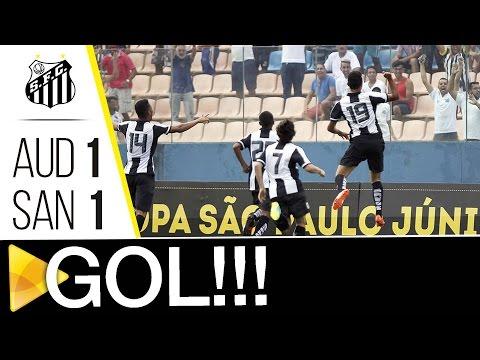 Audax 1 x 1 Santos | GOL | Copa SP (08/01/17)