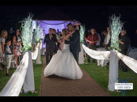 Melinda és Zsolt esküvője Nyíradonyban a Fekete Farm étteremben (Markó András vőfély)