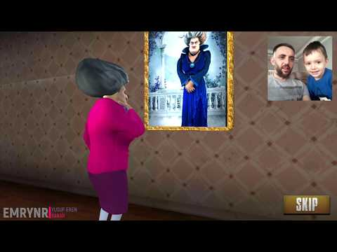 YİNE ELBİSE KESMEK İSTEDİK   YUSUF EREN İLE SCARY TEACHER 3D SİMULATOR OYNADIK #6
