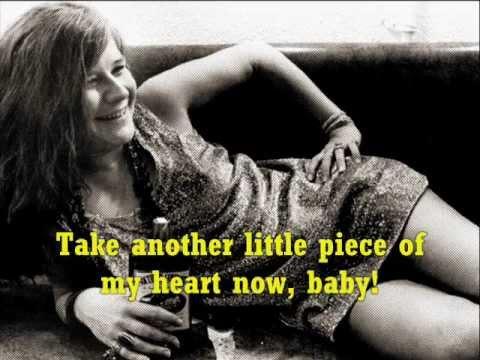JANIS JOPLIN Piece of my Heart + Lyrics