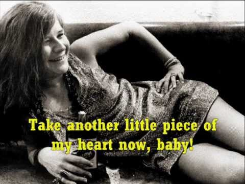 JANIS JOPLIN Piece of my Heart + Lyrics