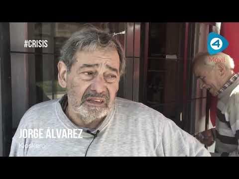 Micro testimonios de la crisis: Jorge cerró su kiosko casi una semana ante la inflación y la suba del dólar