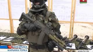 А. Лукашенко в 5-й отдельной бригаде спецназа 13.12.2013