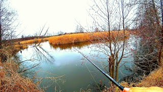 Новая река и микро речка Разведка новых мест не всегда бывает удачной Рыбалка на спиннинг весной