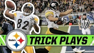Top Tricks Plays in Pittsburgh Steelers History   April Fools Day