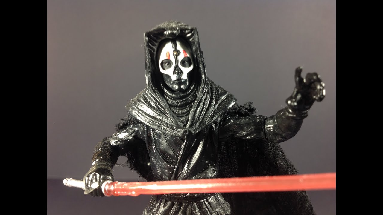 Darth Nihilus Action Figure Review Youtube