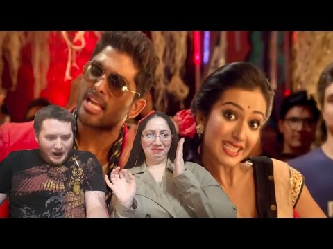 Iddarammayilatho Songs Top Lechipoddi Video Song Latest Telugu Video Songs Allu Arjun Reaction Video