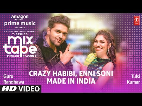 Download Lagu  Enni Soni/Crazy Habibi★ Ep 2 | Guru Randhawa,Tulsi Kumar | T-Series Mixtape Punjabi Season 2 Mp3 Free